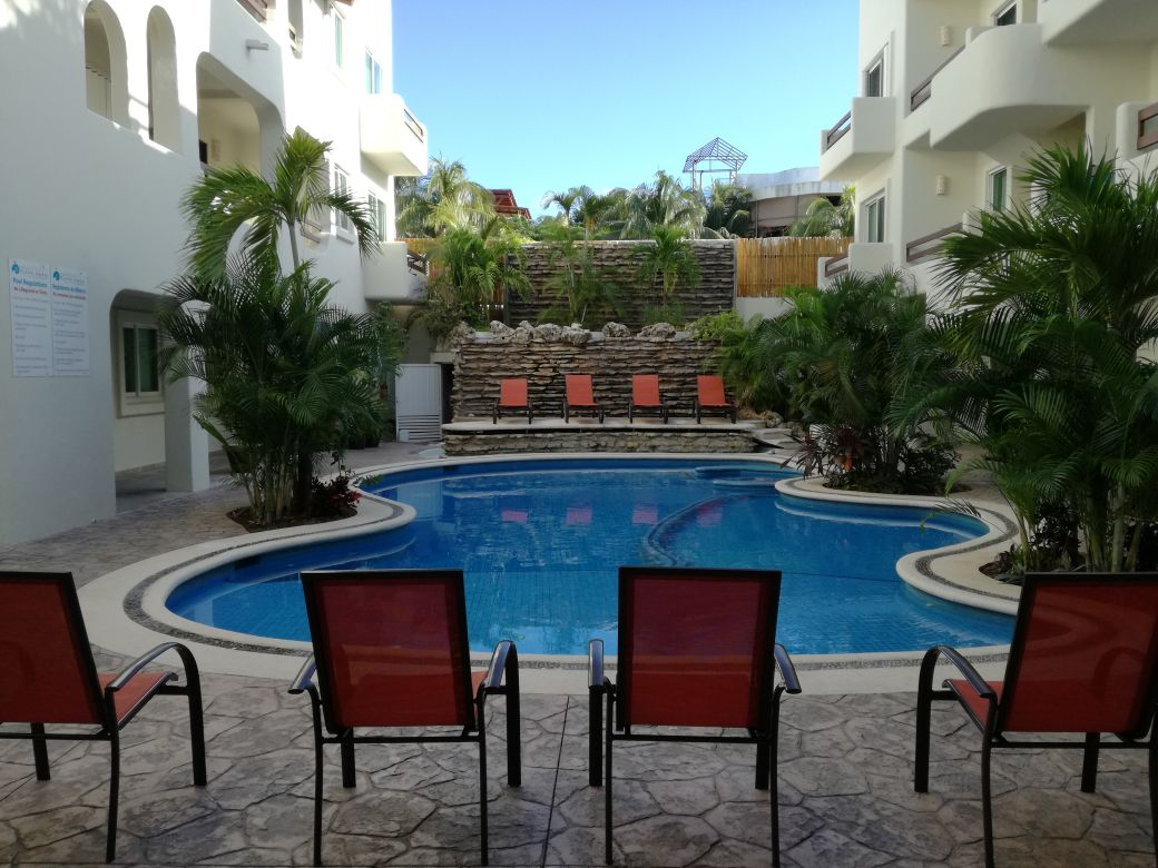 2 bedrooms Penthouse for sale downtown playa del carmen close to walmart coco bongo fifth avenue