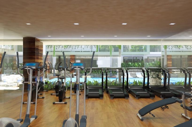 Gym at the condo