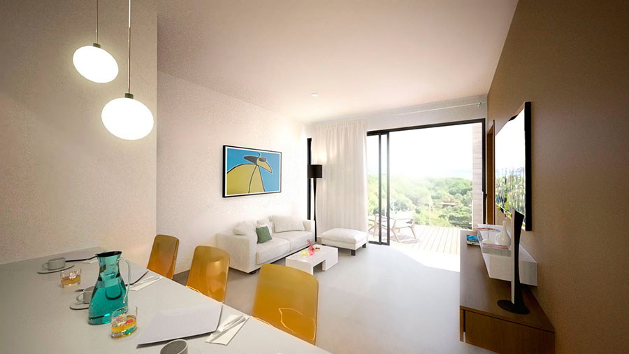 Studio condo with style contempory in downtown at Playa del Carmen
