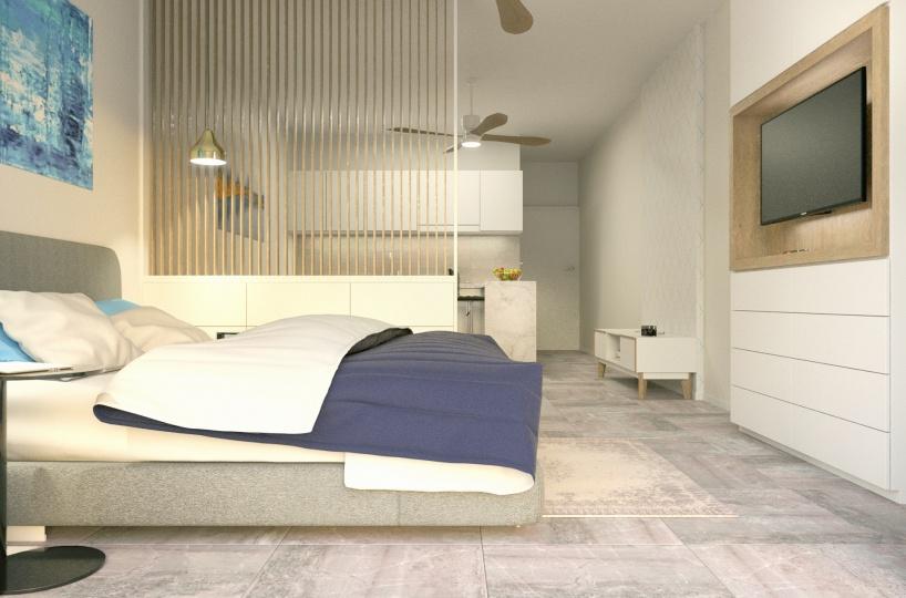 Bed room of condo