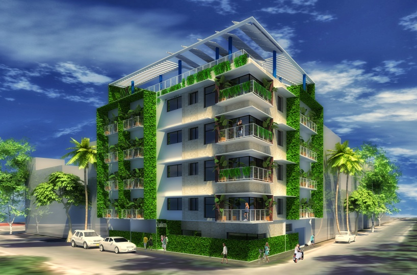 Exterior view of the condo